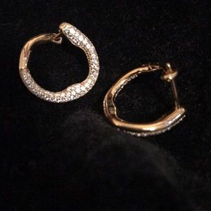 Jewelry - Gorgeous Circle-Hinged Earrings
